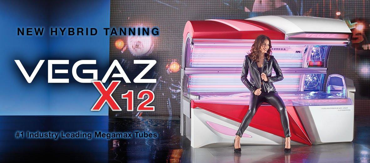 Luxura Vegaz X12 Sunbed Tanning