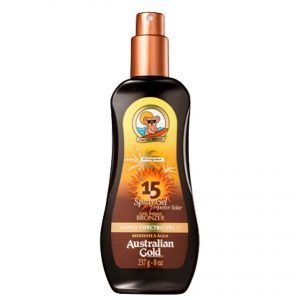 Australian Gold® SPF 15 Spray Gel + Bronzer