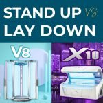 Stand Up vs Lay Down Tanning Bed
